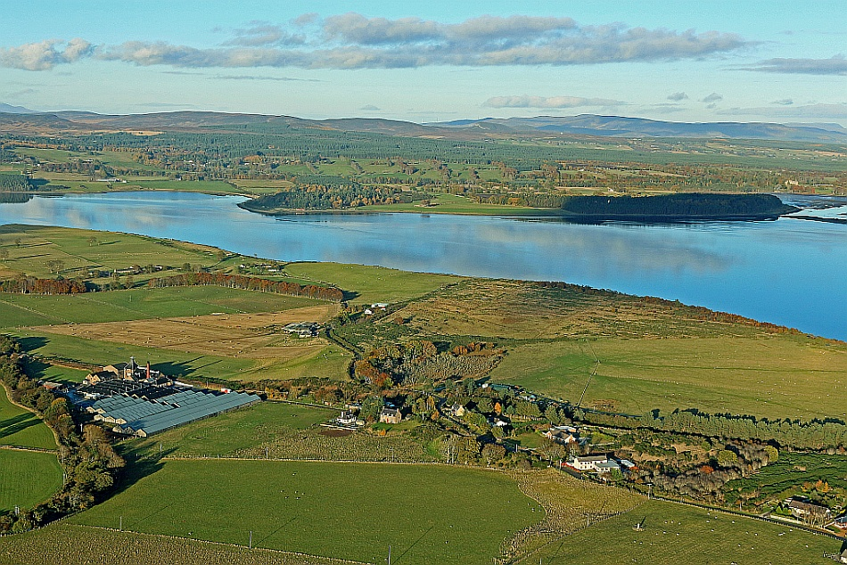 Cartomie and the Dornoch Firth
